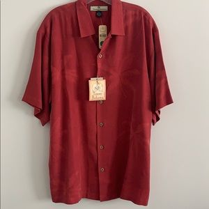 Tommy Bahama Button Down Silk Shirt
